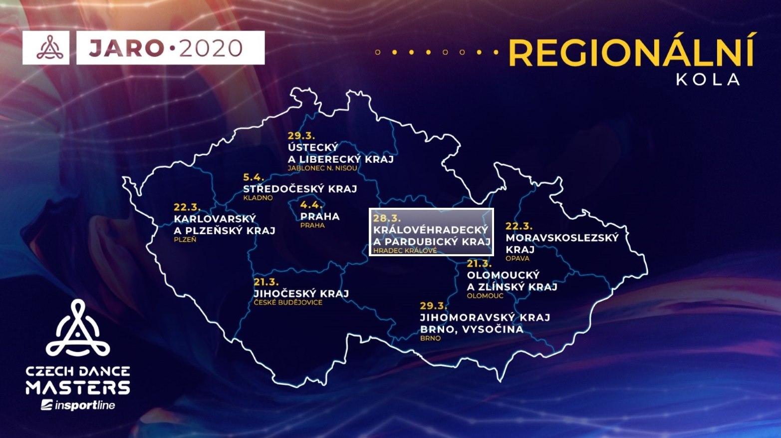 Czech Dance Masters – regionální kolo