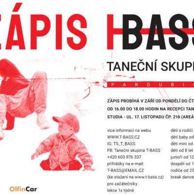Zápis do T-BASS – PARDUBICE / září 2020